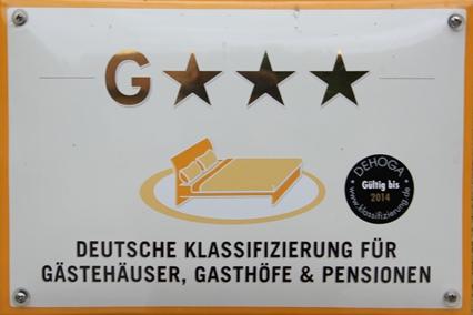 Deutsche Klassifizierung für Gästehäuser, Gasthöfe & Pensionen